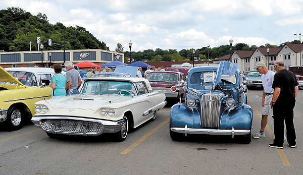 Vehicles filled the parking lot at Washington Centre for Sunday's Memories Classic & Antique Car Cruise. After a year's absence, the downtown show returned for its seventh incarnation. — Mary Grzebeniak