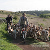 Mendip Farmers Hound Exercising at the Minories, May 2007 Mendip Farmers Hunt