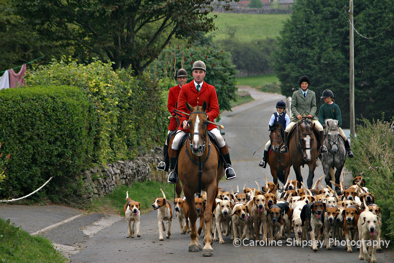 August 2003 in Priddy Mendip Farmers Hunt