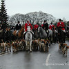 Boxing Day Meet, Priddy 1999 Mendip Farmers Hunt