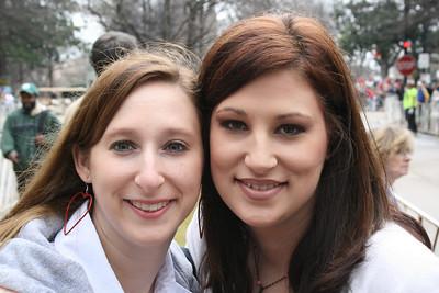 Kelly and Cara