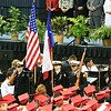 The Honor Guard...  Rick Mead's ROTC kids