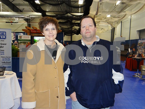 Stacey Beck and Ron Poldervaart