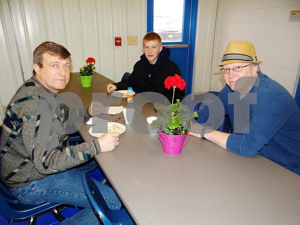 Dan Hunt, Thomas McColky, and Ron Battcher