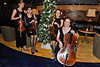 Left to right:  Aliona, plays violin and quartet leader, Natalia plays Viola, Olimpia plays Violin and Stella plays Cello