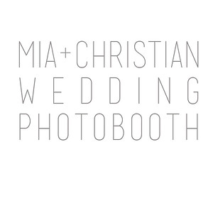 Mia+Christian Wedding Photobooth