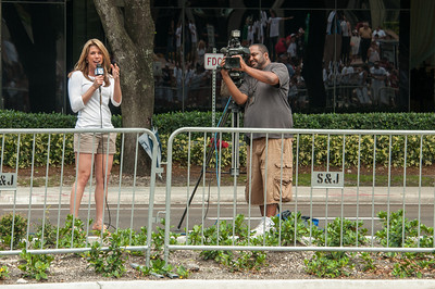 Jen Herrera from WPLG Channel 10 was across the street filming us