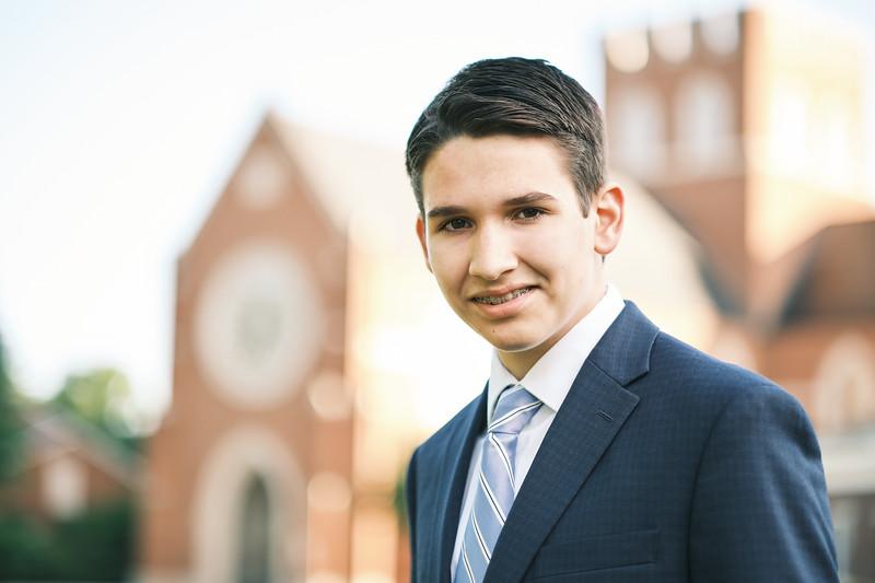 Michael Bingham, 8th Grade Sermon
