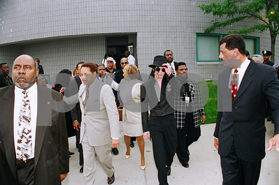 Michael Jackson visit to Detroit for Don Barden's Casino Promotion (unedited images)   July 6, 1998   Rolls 13 to 16