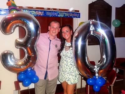 Michael and Joannas 30th