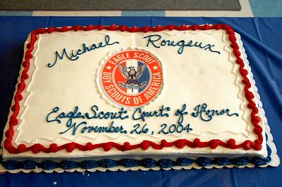 Michael's Eagle Scout ceremony