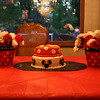 "The cake and some table decor <a href=""http://bellezaeluce.blogspot.com"">http://bellezaeluce.blogspot.com</a>"