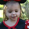 """The birthday girl modeling a pair of Minnie ears.  All the girls received Minnie ears and the boys received Mickey ears. <br />  <a href=""""http://bellezaeluce.blogspot.com"""">http://bellezaeluce.blogspot.com</a>"""