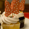 "bow shaped cupcake pick <a href=""http://bellezaeluce.blogspot.com"">http://bellezaeluce.blogspot.com</a>"