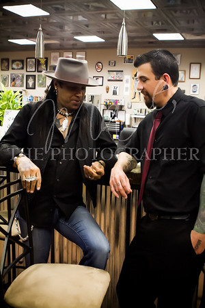 Micki Free + Ink Impression Tattoo 2014