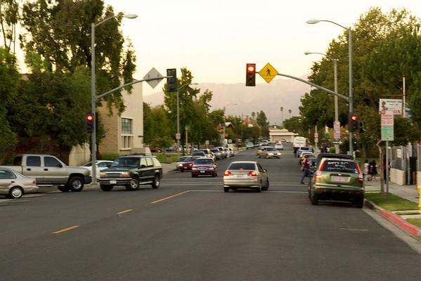 Midblock Signal @ Romona Ave S/O Newmark Ave