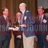 Sponsor presenters Brandt Hamby of ACG Dallas/Fort Worth, Ken Travis of Travis Wolff, with Middle Market honoree Scott Wheeler of Daseke, and Jim LaFontaine of UMB Bank.