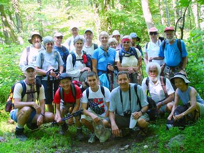 Midweek Hikers Elkwallow 6/21/06