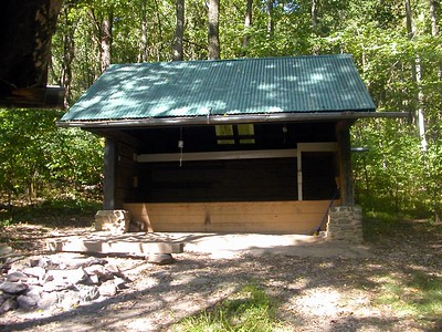 Rod Hollow Shelter.