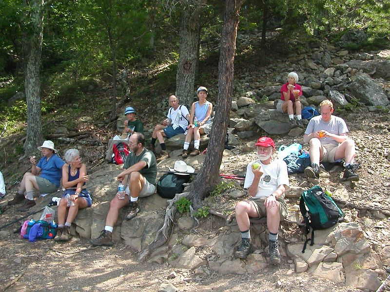 Overall Run Hike - Lunch at the 'Big Falls'