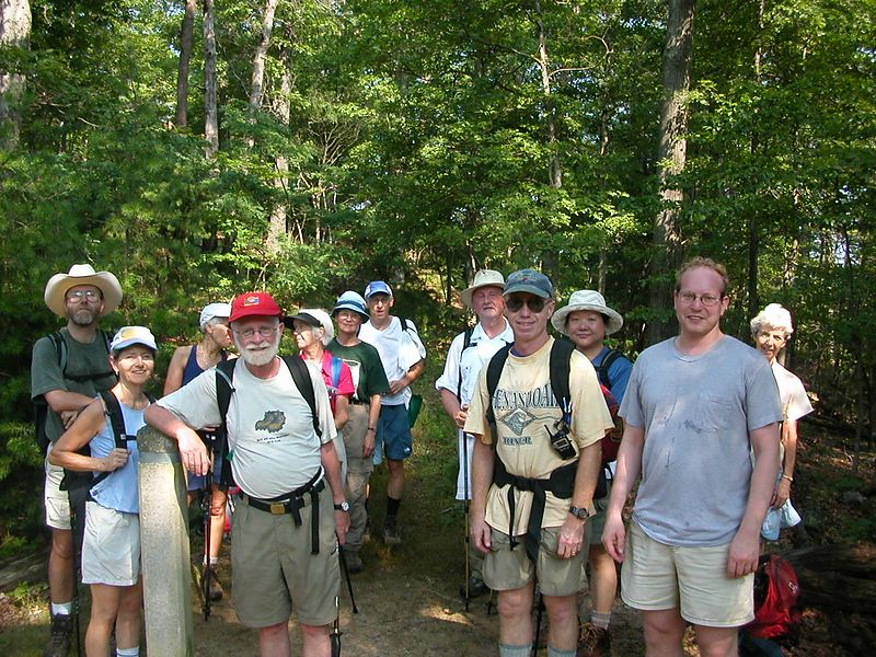 Overall Run Hike - Group picture.