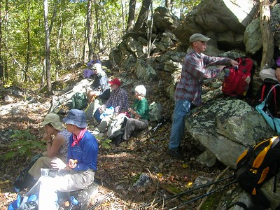 Lunch on the AT - 10/6/04