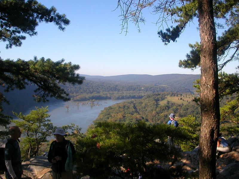 View of Potomac from Weverton Heights - 10/6/04