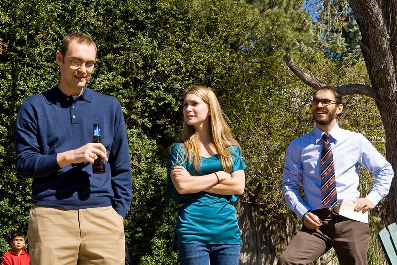 Travis, Julie and Casey