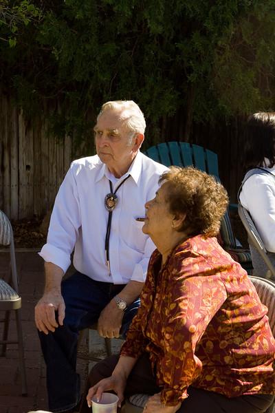 Mike's parents, Robert and Nana