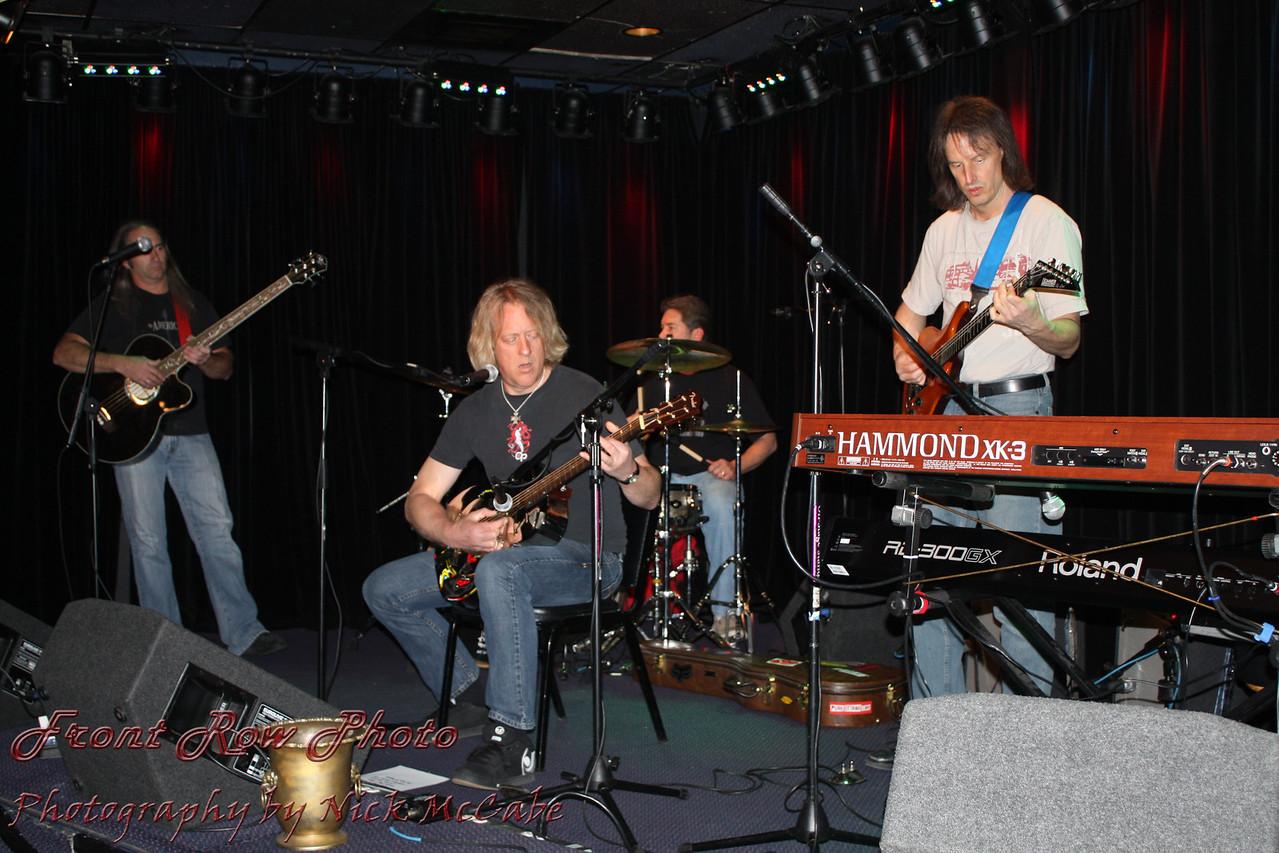 The Max Volume Band<br /> John Gaddis, Max Volume, Mark Wortman, Lenny Supera