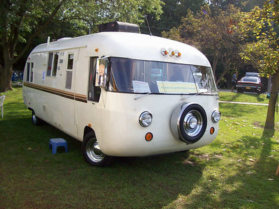 Very rare Ultra van, corvair powered. This only weights 3500lbs