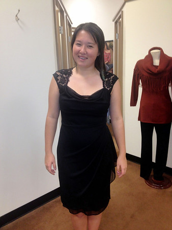 Military Ball dress shopping
