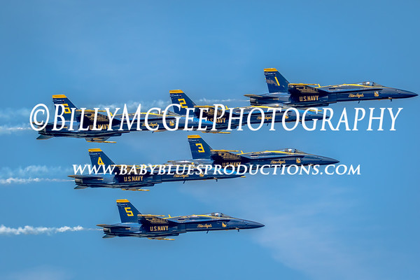 Blue Angels Air Show Practice - 19 May 2015
