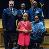 433d Medical Group conducted newly promoted Chief Shandra L. Patrick's Chief's Ceremony on 15 Oct 2016 at Wilford Hall Auditorium on JBSA Lackland AFB, Tx. In attendance was her dad, CMSgt(ret.) Rufus Turner along with her mom Dorthy Turner.