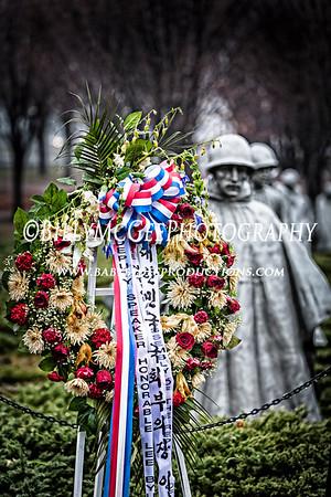 Korean War Veterans Memorial - 11 Jan 2014