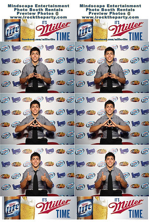 Miller Lite Beer Promotion - Photo Booth Pictures