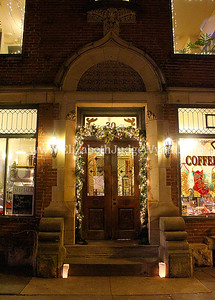 Millionaire's Row Open House, Easton, PA 12/13/2013 Quadrant Book Mart & Coffee House, 22 N Third St.
