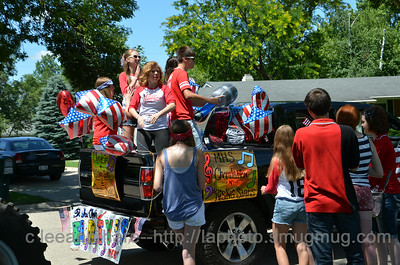 2014 Milton 4th  of July Parade