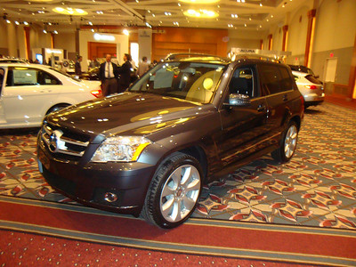 One of Angie's favorites, the Mercedes GLK350 SUV.