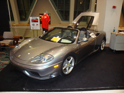 My favorite car in the show - 2002 Ferrari Spider.