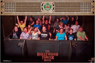 Mindlin Family @ Hollywood Tower Hotel