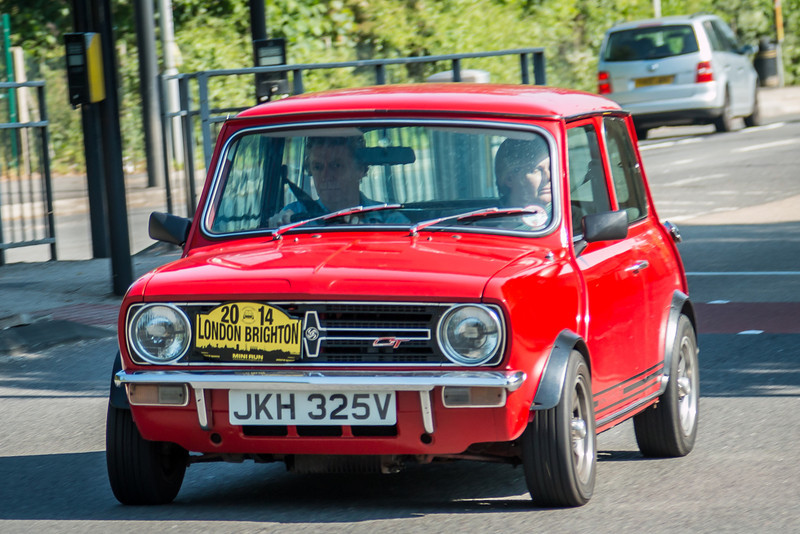 JKH 325V London to Brighton Mini Run 2014