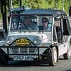 Mini Moke F707 UPB London to Brighton Mini Run 2014