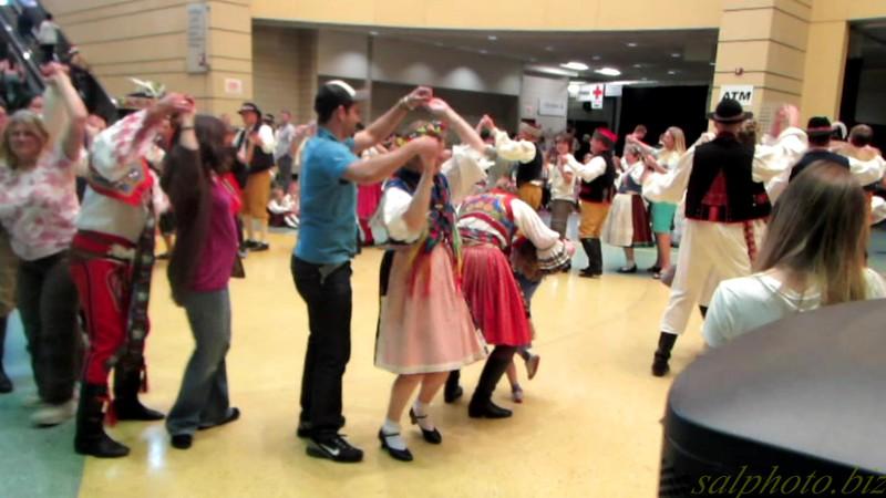 """Traditional Czech Dancers <br /> <a href=""""https://youtu.be/OWR0tul5qVc"""">https://youtu.be/OWR0tul5qVc</a>"""
