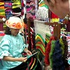 "Festival of Nations: Bazaar (Fiber Wall Tapestries from Colombia)<br /> <a href=""https://youtu.be/B7QkWCkClqY"">https://youtu.be/B7QkWCkClqY</a>"