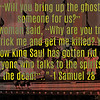 "<a href=""https://www.biblegateway.com/passage/?search=1"">https://www.biblegateway.com/passage/?search=1</a>+Samuel+28&version=CEV<br /> <br /> ""Will you bring up the ghost of someone for us?""<br /> <br /> 9 The woman said, ""Why are you trying to trick me and get me killed? You know King Saul has gotten rid of everyone who talks to the spirits of the dead!""<br /> <br /> <a href=""http://www.bibleinfo.com/en/topics/ghosts"">http://www.bibleinfo.com/en/topics/ghosts</a><br /> <br /> <a href=""https://www.gotquestions.org/ghosts-hauntings.html"">https://www.gotquestions.org/ghosts-hauntings.html</a><br /> <br /> Shadow beings and ghost according to the bible - YouTube<br /> <a href=""https://www.youtube.com/watch?v=YXAKAZYY-aM"">https://www.youtube.com/watch?v=YXAKAZYY-aM</a><br /> <br /> <a href=""https://www.instagram.com/p/Bkt2lkCh7yz/?taken-by=goodnewseverybodycom"">https://www.instagram.com/p/Bkt2lkCh7yz/?taken-by=goodnewseverybodycom</a>"