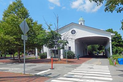 Lexington Center Depot's Train Shed