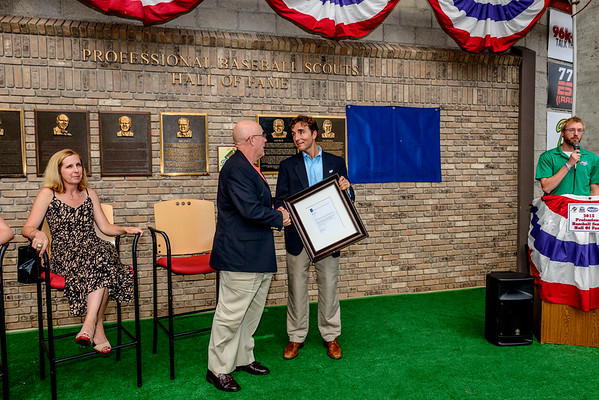 Scouts Hall of Fame Induction of Mike Russell 08/08/2013