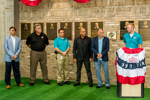 Jorge Posada Sr Scout Hall of Fame