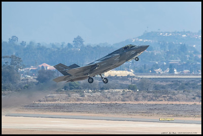 F-35B Lightning II taking off from Miramar.